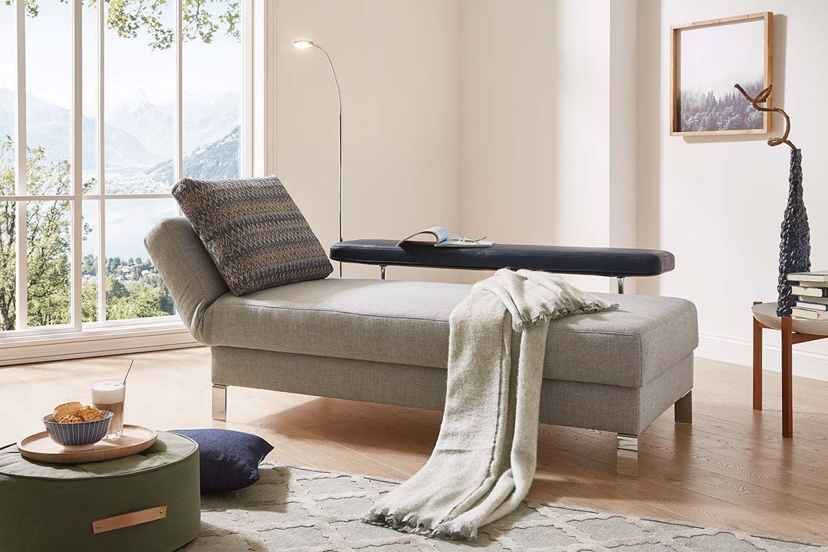 Natur Liegesofa Solo - Relaxposition